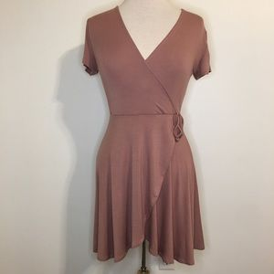 NWT Rolla Coster | Pink Wrap Dress